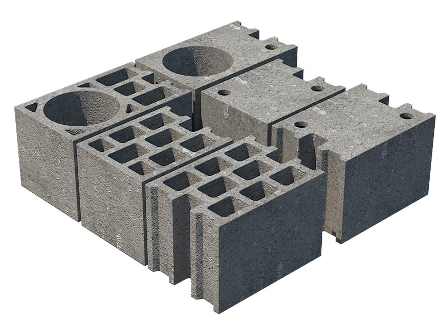 Namas iš blokelių kaina, privalumai, trūkumai