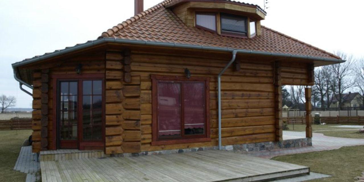 Mediniai namai, surenkami mediniai namai